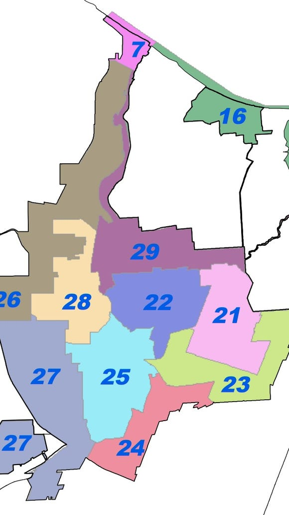 Committees in each of the legislative districts in the city of Rochester meet to decide what city candidates should receive the party designation or endorsement.