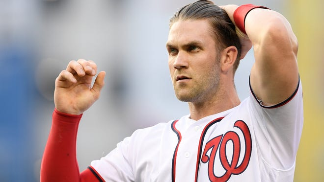 Washington Nationals star Bryce Harper is among the players who have had eerie experiences at the Pfister Hotel in Milwaukee.