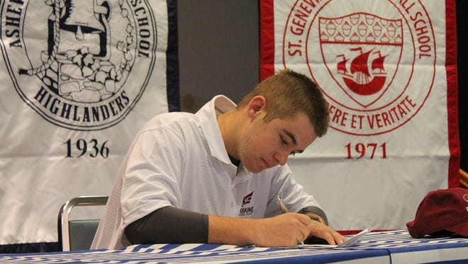 Carolina Day golfer Nathan Ball has signed with Erskine (S.C.).