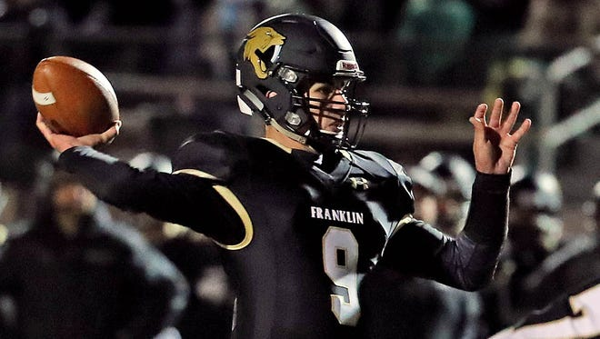 Journal Sentinel male athlete of the year Max Alba starred in football and basketball for Franklin.