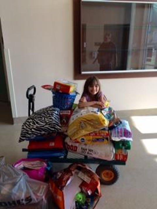 Visalia girl turns birthday into fundraiser for SPCA