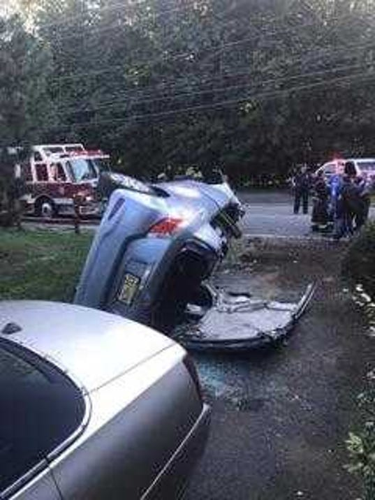 Woodland Park Car Accident Leaves Driver Hospitalized