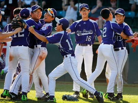 LLWS South Korea Chicago Championship Baseball