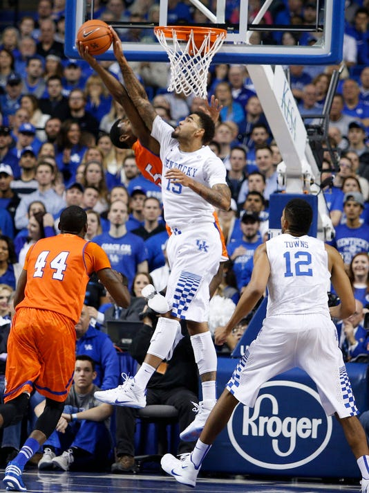 The University of Kentucky Men's Basketball team hosted Texas-Arlington