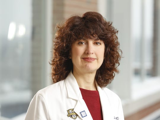 Dr. Michelle Shayne, oncologist at Comprehensive Breast Care at UR Medicine's Wilmot Cancer Institute