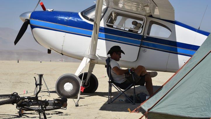 8/26/1612:38:27 PM Burning Man participant and pilot