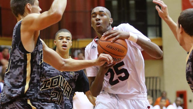 FILE -- Pike's Tahjai Teague committed to Ball State on Tuesday.