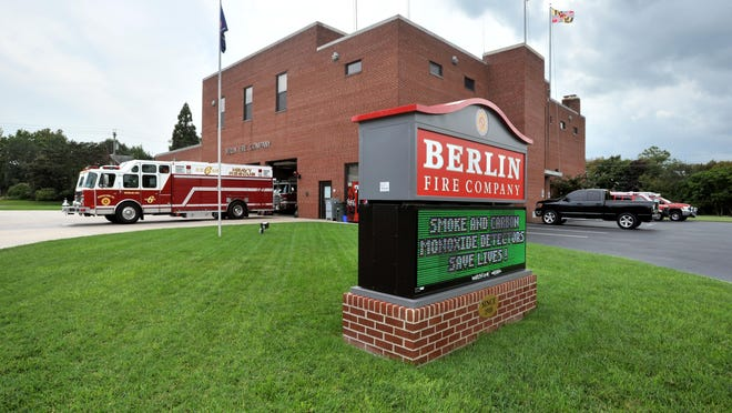 The Berlin Fire Company is shown in this file photo.