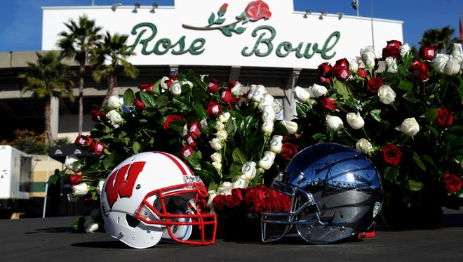 The 2012 Rose Bowl. The first bowl game, the Rose Bowl, was launched in 1902 to help finance the Tournament of Roses.
