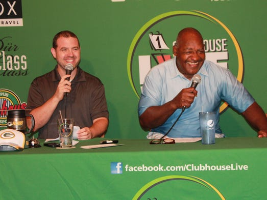 Former Green Bay Packers Great Johnnie Gray appears on the Sept. 1, 2014, edition of Clubhouse Live with Brett Christopherson and Ricardo Arguello in Appleton.