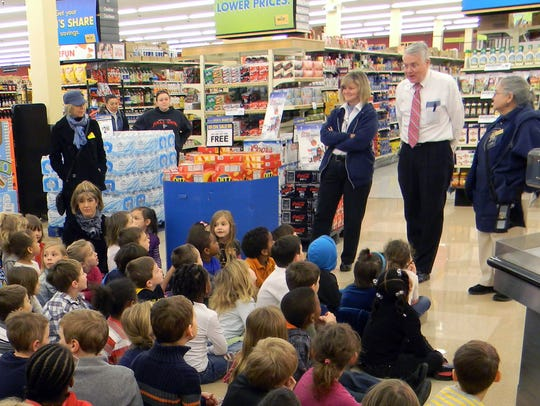 Daniel Pritchett, manager of the Food Lion supermarket