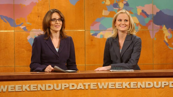 Image result for tina fey amy poehler weekend update 2004
