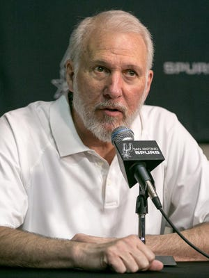 Gregg Popovich himself was absent from the Spurs' preseason game in Phoenix on Thursday night.