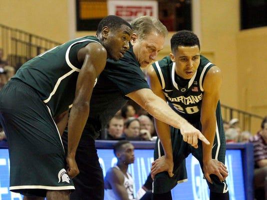 NCAA Basketball: Orlando Classic-Michigan State vs Rider