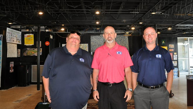 The Citrus Three team of Dustin Tackett, John Corapi, and Curtis Carpenter.