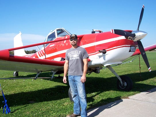 Curt Terpstra of Pella, who died in a plane crash Dec.