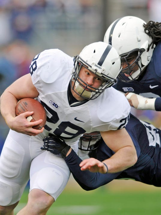 The Lions are stacked at tailback. Where does Zach Zwinak fit into the plans?