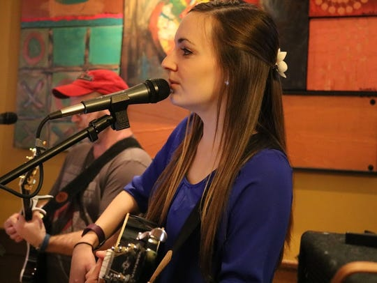 Singer Karina Kern performs at the Green Mill Restaurant
