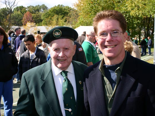 First Woodbridge Parade Chairman Justin McCarthy, who