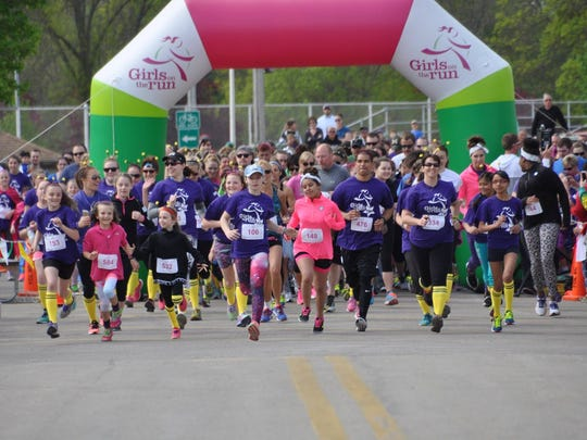 More than 500 girls, spectators, volunteers and community
