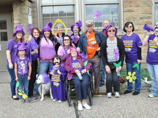 The Stevens Point Walk to End Alzheimer's will be held Sept. 23, 2017 at P.J. Jacobs Junior High School.