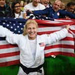 Olympic gold medalist in judo Kayla Harrison of Middletown wins MMA debut