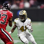 Saints' Alvin Kamara to play against Jets Sunday after suffering concussion last week