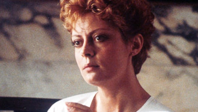 Susan Sarandon in a scene from the 1983 film 'The Hunger.'