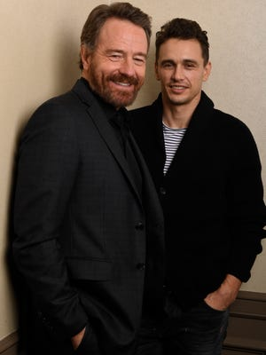 Bryan Cranston and James Franco star in the new R-rated holiday comedy 'Why Him?'