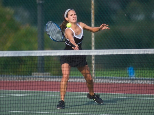 Biglerville's Carlee Brumgard leads an experienced field in YAIAA Division II/Class AA girls' tennis (GAMETIMEPA.COM)