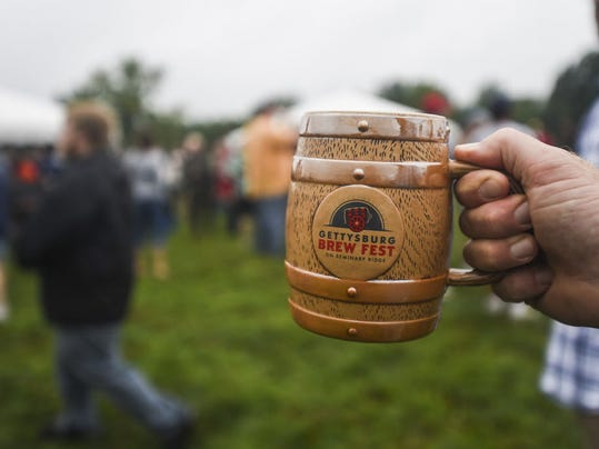 The second annual Gettysburg Brew Fest is set for Saturday.