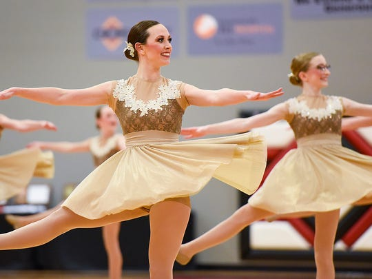 Sauk Rapids-Rice performs in the jazz competition during