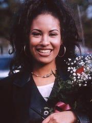 Tejano superstar Selena Quintanilla-Perez during her
