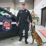 Police dogs at risk of accidental overdose in opioid epidemic