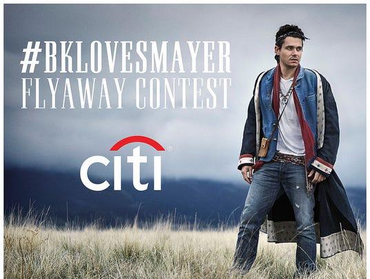 John Mayer's Instagram contest