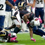 Rams' Ogletree to undergo right ankle surgery