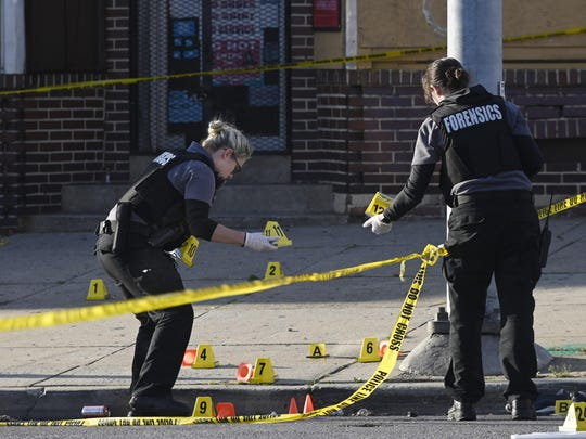 APTOPIX Baltimore Shooting