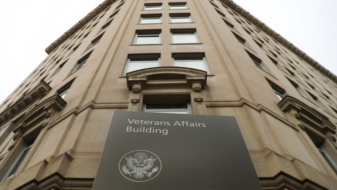 Veteran Affairs building near the White House in Washington, Feb. 14, 2018.
