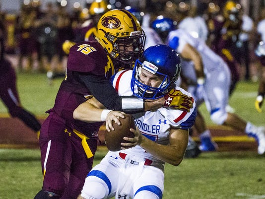 Chandler at Mountain Pointe football