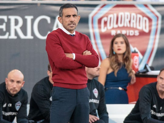 MLS: Seattle Sounders FC at Colorado Rapids