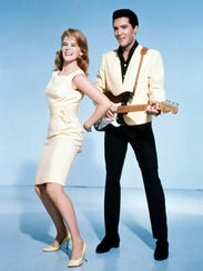 Actress Ann-Margret starred with rock star Elvis Presley