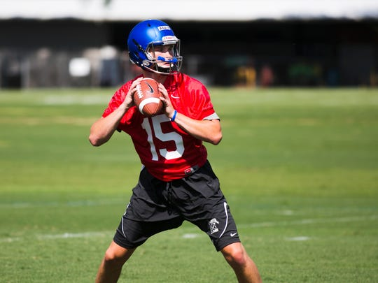 July 29, 2017 - Connor Adair, a quarterback for the