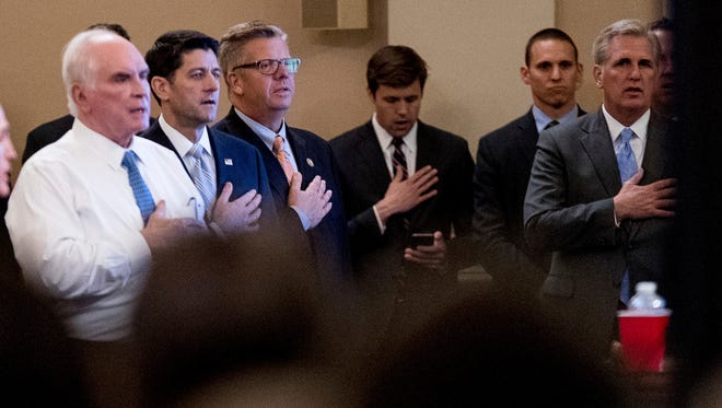 Republicanos toman juramento en esta nueva etapa.