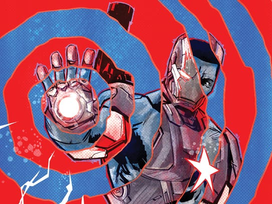 Iron Patriot cover