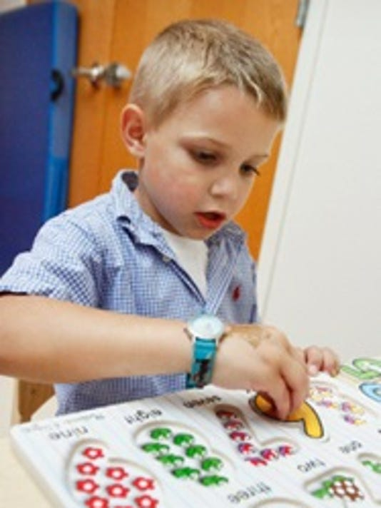 Heartbeats: Grant to advance Autism research awarded to Children's Specialized Hospital PHOTO CAPTION