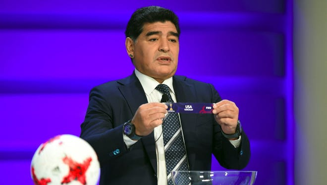 Diego Maradona has been named coach of a second division UAE team.