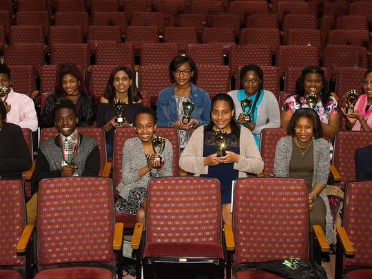 Middle School students were honored for their achievements.