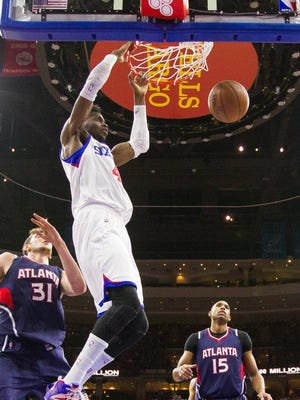 Nerlens Noel had 11 points and 17 rebounds for the  76ers.