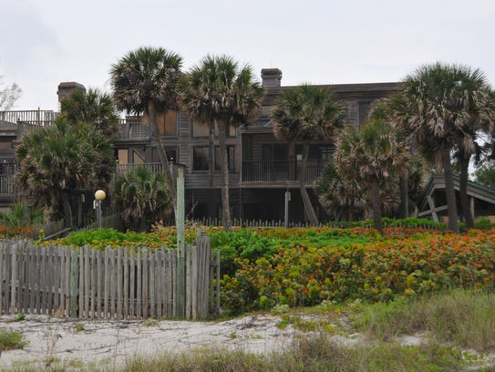 Pumpkin Center, the former oceanfront home and office