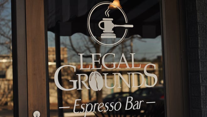 Legal Grounds, an upscale espresso bar and coffee shop coming to downtown Alexandria, will be located in the law office of local attorney David Williams.